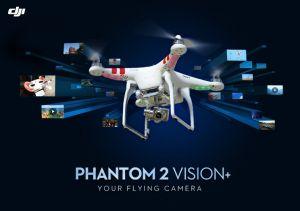 DJI Phantom 2 Vision+ Aerial Drone
