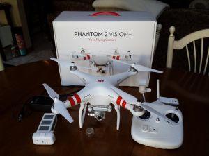 DJI Phantom 2 Vision+ Unboxing