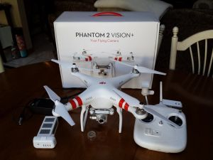 DJI Phantom 2 Vision+ Unboxing