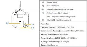 DJI Phantom FC40 Transmitter