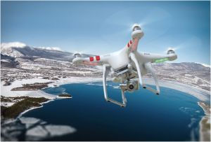 Phantom 2 Vision Plus Drone In Action
