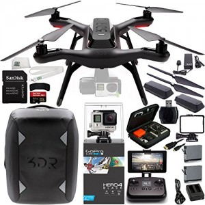 3DR Solo Quadcopter with 3-Axis Gimbal for GoPro HERO4
