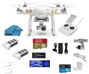 DJI Phantom 3 Professional (Pro) Quadcopter Drone 4K UHD Video Camera
