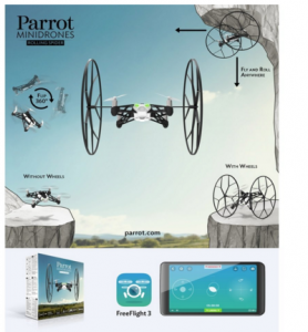 Parrot MiniDrone Rolling Spider